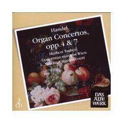 Musik: Orgelkonzerte op.4 & 7  von Nikolaus Harnoncourt, Herbert Tachezi, CMW