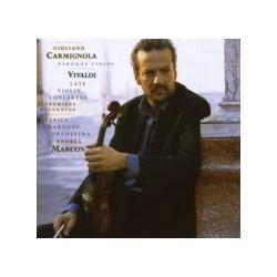 Musik: Late Violin Concertos  von Giuliano Carmignola, Venice Baroque Orchestra