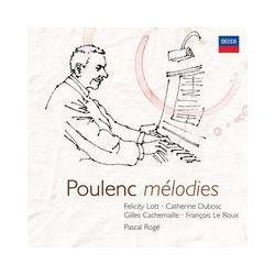 Musik: Poulenc: Sämtliche Lieder  von Francois Le Roux, Felicity Lott, Gilles Cachemaille, Urszula Kryger, Pascal Rogé