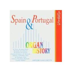 Musik: Organ Historie-Spain & Portugal  von Arturo Sacchetti