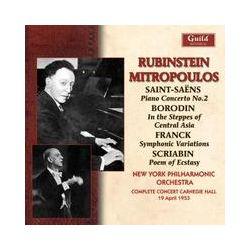 Musik: Rubinstein Carnegie Hall 1953  von Rubinstein, Mitropoulos, New York Philh.