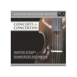 Musik: Molter: Conceri & Concertini  von Hamburger Ratsmusik, Simone Eckert