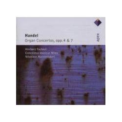 Musik: Orgelkonzerte Op.4 & Op.7  von Nikolaus Harnoncourt, Tachezi