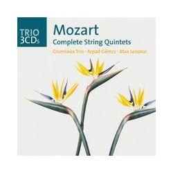 Musik: Sämtliche Streichquintette (GA)  von Grumiaux Trio, Arpad Gérecz, Georges Janzer