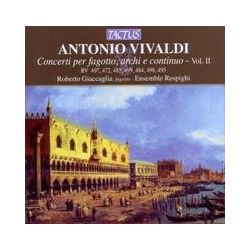 Musik: Konzerte Für Fagott,Streicher Und B.C.Vol.2  von Roberto Giaccaglia, Ensemble Respighi
