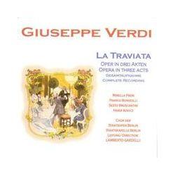 Musik: La Traviata  von Freni, Chor der Staatsoper Berlin, Bonisolli, Bruscantini, Lamberto Gardelli