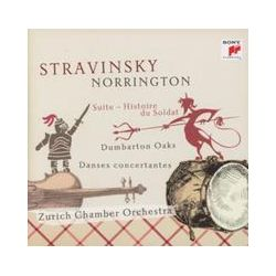 Musik: LHistoire du Soldat/Dumbarton Oaks/Danses concert  von Roger Norrington, Kammerorchester Zürich