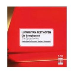 Musik: Sämtliche Sinfonien 1-9 (GA)  von Herbert Blomstedt, Staatskapelle Dresden