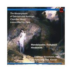 Musik: Meisterwerke transkribiert für Flöte und Klavier  von Evgeniya Kossmann, Hans Jörg Fink