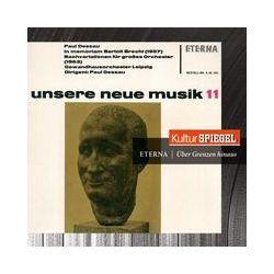 Musik: Orchesterwerke (Kulturspiegel-Edition)  von Gewandhausorchester Leipzig, Leipzig GH & RSO, Dessau, Kegel, Berlin Sk, Herbig