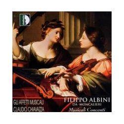 Musik: Musicali Contenti (1623/26)  von Piccinini, Simboli, Gli Affetti, Chiavazza