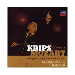 Musik: Mozart: Die großen Sinfonien Nr. 21-41  von Concertgebouw Orchester, Josef Krips, Royal Concertgebouw Orchestra Amsterdam