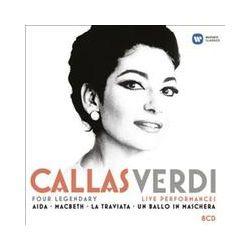 Musik: Callas:Verdi Live  von Callas, Giulini, Sabata, Gavazzen