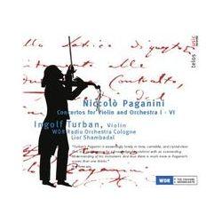 Musik: Konzerte für Violine und Orchester Nrn.1 bis 6  von Ingolf Turban, WDR Rundfunkorchester, Lior Shambadal