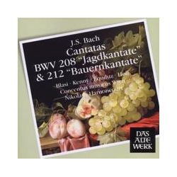 Musik: Jagdkantate & Bauernkantate BWV 208 & 212  von Nikolaus Harnoncourt, CMW