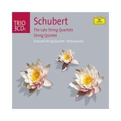 Musik: Schubert: Die späten Streichquartette  von Emerson String Quartet, Mstislav Rostropovich