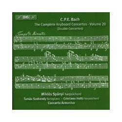 Musik: Sämtliche Klavierkonzerte vol.20: Doppelkonzerte  von Spanyi, Szekendy, Holtz, Szüts, Concerto Armonico