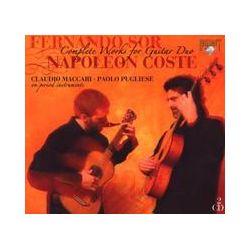 Musik: Sor & Coste: Sämtliche Werke für Gitarrenduo (GA)  von Claudio Maccari, Paolo Pugliese