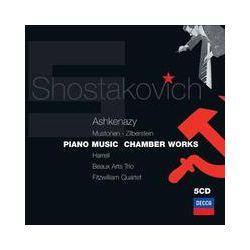 Musik: Schostakowitsch: Kammermusik & Klavierwerke  von Vladimir Ashkenazy, Lilya Zilberstein, Olli Mustonen, Lynn Harrell, Beaux Arts Trio, Fitzwilliam String Quartet