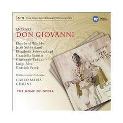 Musik: Don Giovanni  von Giulini, Schwarzkopf, Wächter