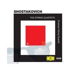 Musik: Schostakowitsch: Sämtliche Streichquartette Nr. 1-15  von Emerson String Quartet