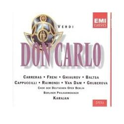 Musik: Don Carlos (Ga-It)  von Herbert von Karajan, Carreras, Freni, BP