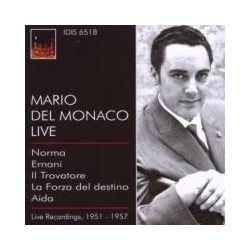 Musik: Mario Del Monaco Live  von Del Monaco, Olivero, Colombol