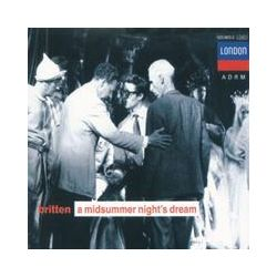 Musik: A Midsummer Nights Dream (GA)  von Harwood, Deller, Pears, Hemsley, Veasey, Lso, Britten