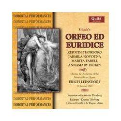 Musik: Gluck:Orfeo Ed Euridice  von Thorborg, Novotna, Farell, Leinsdorf, MET
