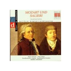 Musik: Mozart Und Salieri (GA,Dt.)  von Schreier, Adam, Janowski, SD