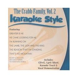 Musik: The Crabb Family, Volume 2: Karaoke Style