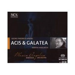 Musik: Händel: Acis and Galatea  von Haselboeck, Musica Angelica, Perillo, Bleeke