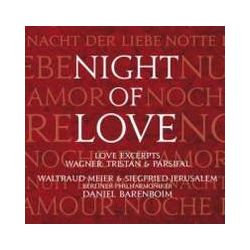 Musik: Night Of Love/Tristan Und Isolde/Parsifal  von Barenboim, BP, Meier, Jerusalem