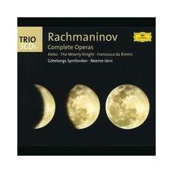 Musik: Rachmaninoff: Sämtliche Opern  von Neeme Järvi, Göteborgs Symfoniker
