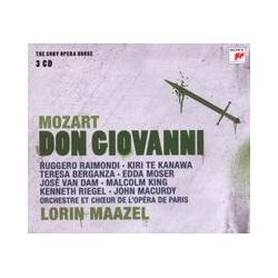 Musik: Don Giovanni-Sony Opera House  von Lorin Maazel, Orchestra Theatre National de Paris