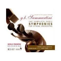 Musik: Sammartini: Die frühen Sinfonien  von Ferrari, I Giovani Di Nuova Cameristica
