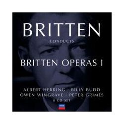Musik: Britten conducts Britten Operas Vol.1  von Benjamin Britten, Sylvia Fisher, Johanna Peters, April Cantelo, English Chamber Orchestra, Peter Glossop, Peter Pears, Orchestra of the Royal Opera