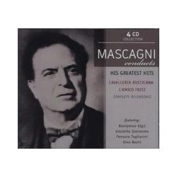 Musik: Mascagni Conducts His Greatest Operas (GA)  von Pietro Mascagni, Gigli, Simionato, BECHI, Tagliavini