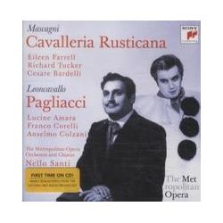 Musik: Bajazzo/Cavalleria Rusticana (Metropolitan Opera)  von Metropolitan Opera Orchestra, Metropolitan Opera Chorus, Richard Tucker, Eileen Farrell
