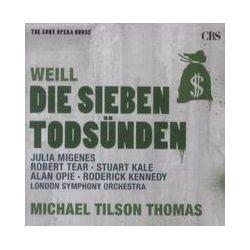 Musik: Die 7 Todsünden/Die Dreigroschenoper-Sony Opera Ho  von London Symphony Orchestra, Stuart Kale, Robert Tear, Julia Migenes