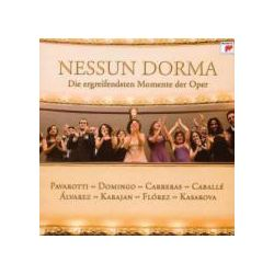 Musik: Nessun Dorma-Die Ergreifendsten Momente Der Oper  von Pavarotti, Domingo, Carreras, Herbert von Karajan