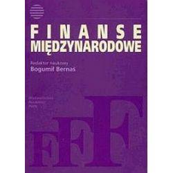 Finanse międzynarodowe - Bogumił Bernaś
