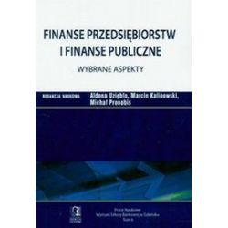 Finanse przedsiębiorstw i finanse publiczne