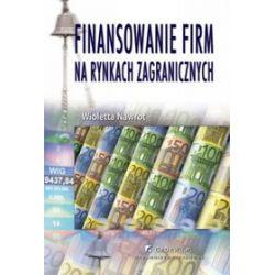 Finansowanie firm na rynkach zagranicznych - Wioletta Nawrot