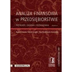 Analiza finansowa w przedsiębiorstwie - Beata Kotowska, Aldona Uziębło, Olga Wyszkowska-Kaniewska
