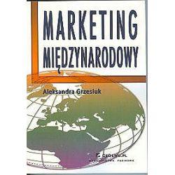 Marketing międzynarodowy - Aleksandra Grzesiuk