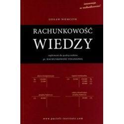 Rachunkowość wiedzy - Lesław Niemczyk