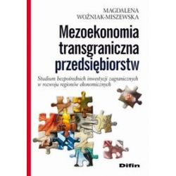 Mezoekonomia transgraniczna przedsiębiorstw - Magdalena Woźniak-Miszewska