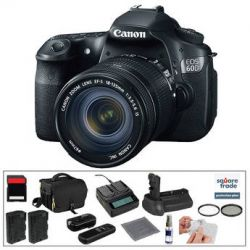 Canon EOS 60D Digital SLR Camera with 18-135mm Lens & B&H