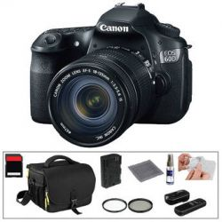 Canon EOS 60D Digital SLR Camera with 18-135mm Lens & Basic